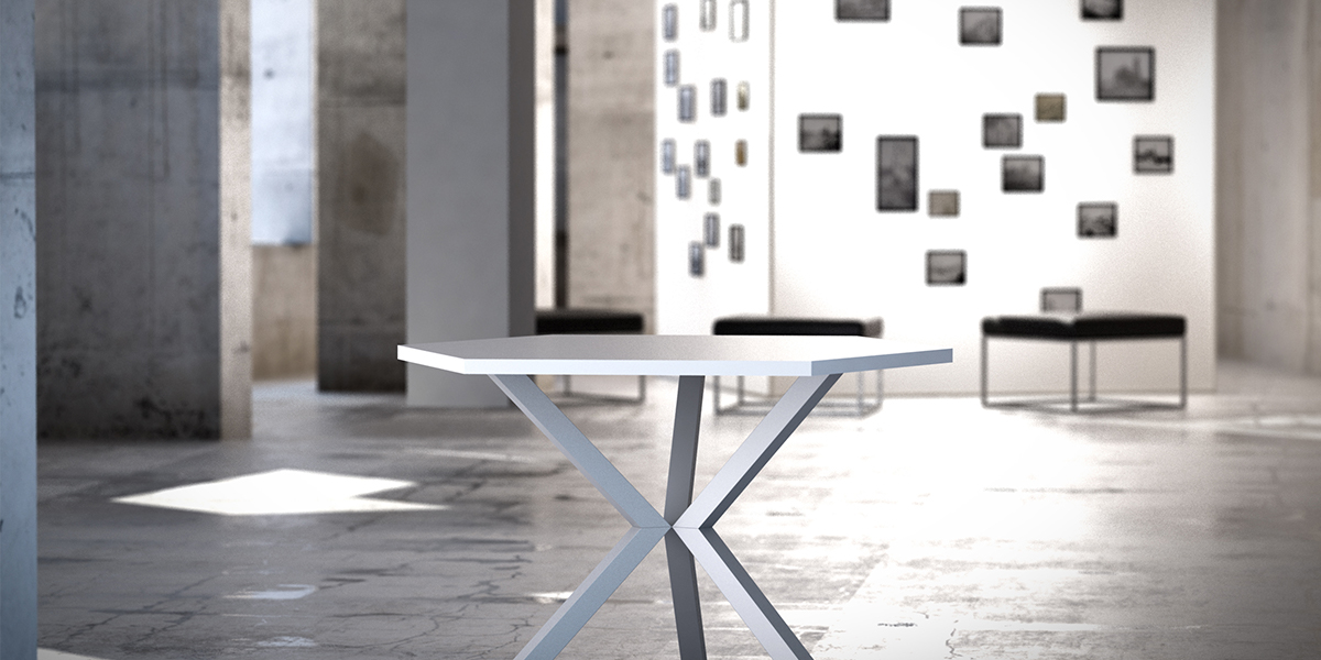 MBA table sur-mesure design